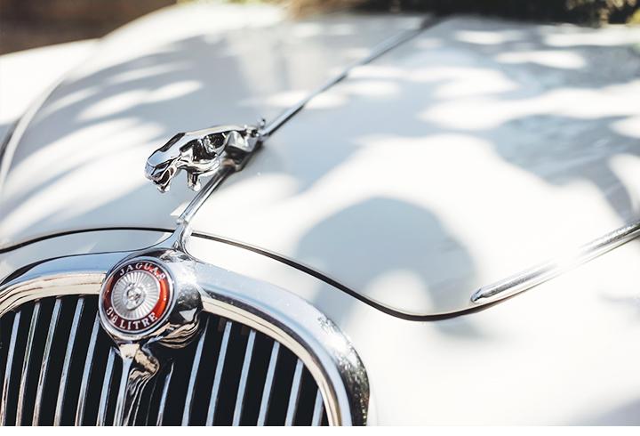 voiture jaguar photographe mariage ajaccio champêtre