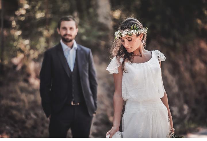 séance de couple photographe mariage ajaccio champêtre
