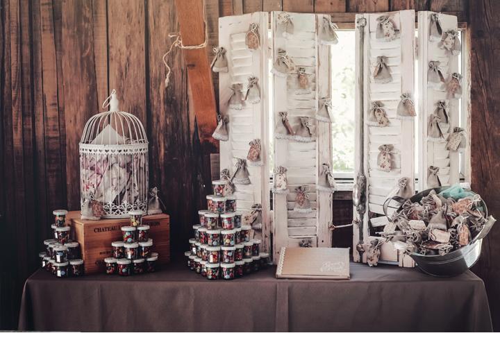 photographe mariage ajaccio champêtre décoration