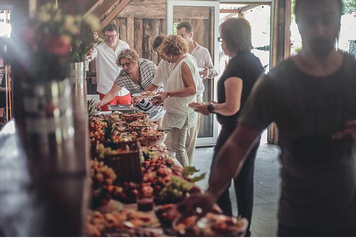 photographe mariage ajaccio champêtre buffet