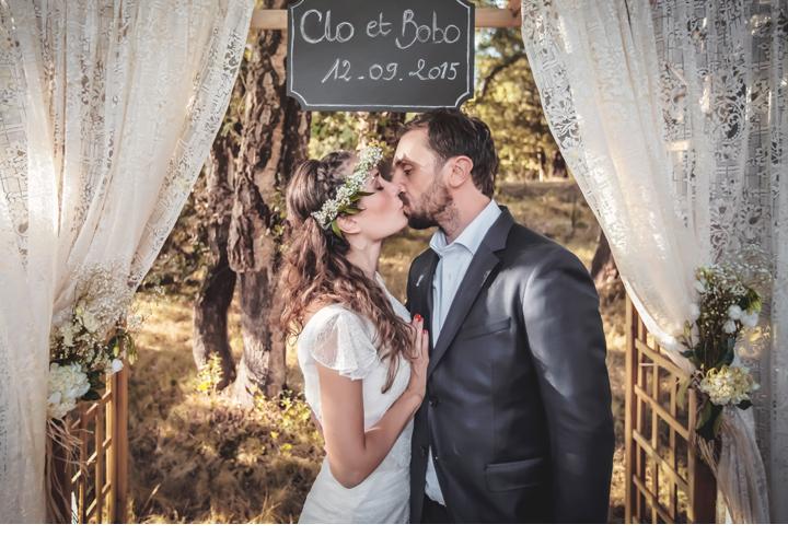 photocall mariage